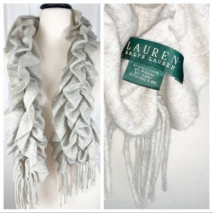 LAUREN RALPH LAUREN Wool Scarf